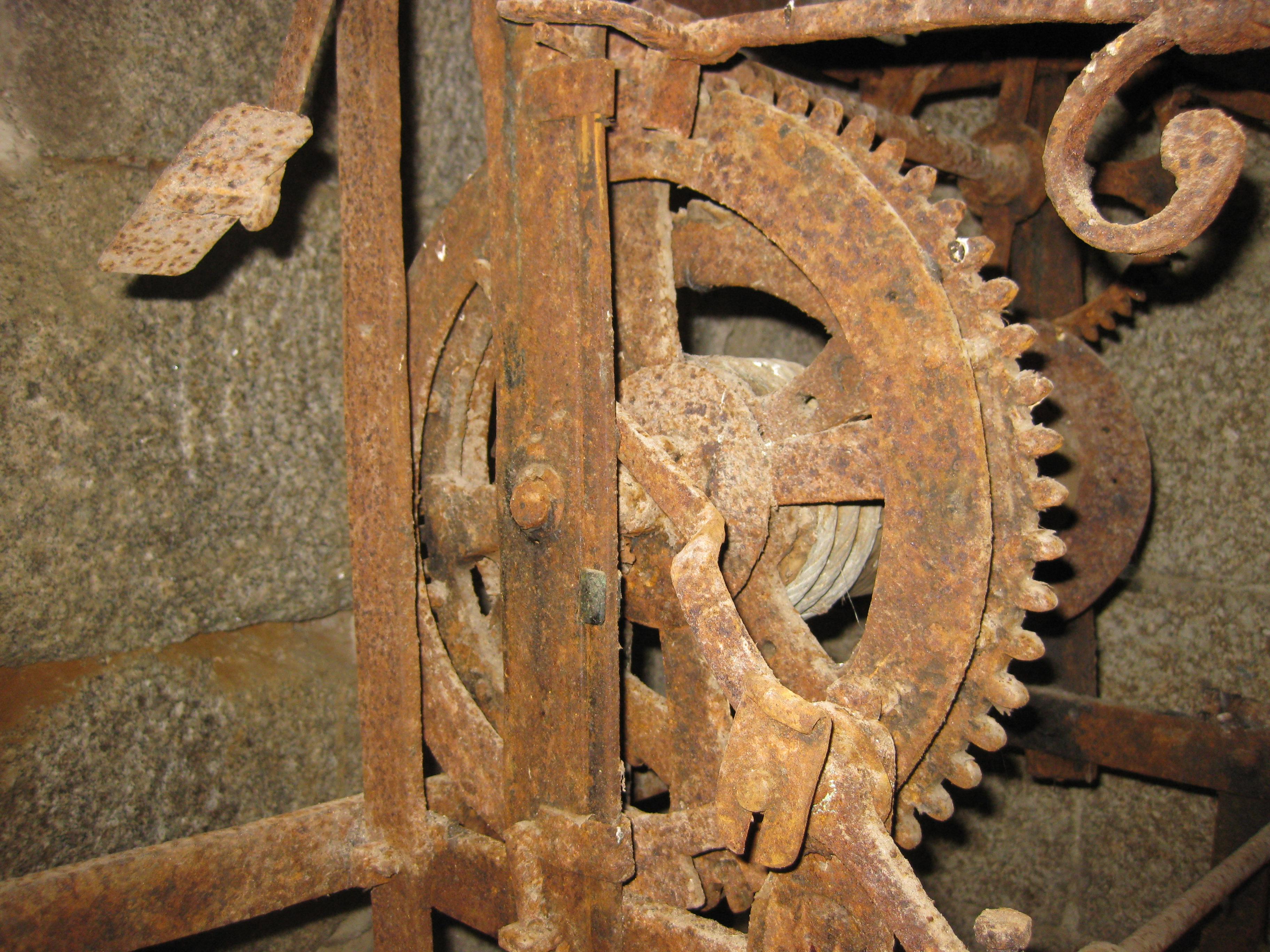 Estado Anterior Reloj San Clodio,Leiro (Galicia) 04
