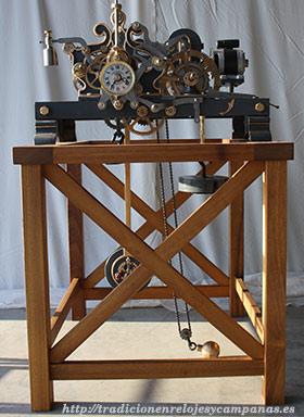 Restauración de Relojes mecánicos de torre Murcia