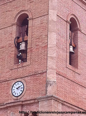 Restauración de Reloj de torre y de campanas de iglesia sin alterar su estado